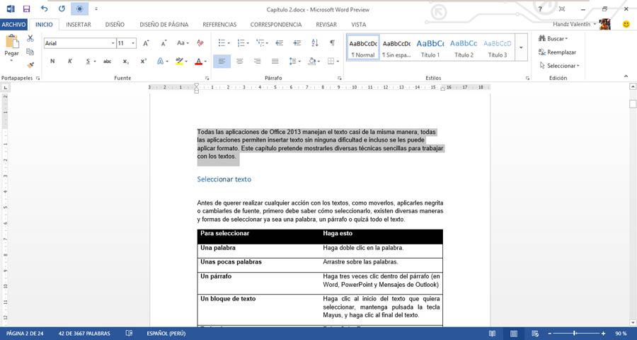 Manual de Word 2013 | COMPUTACIÓN