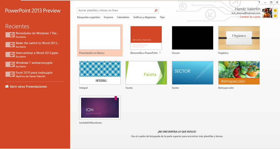 Curso gratis de Guía Office 2013. aulaClic. 9 - Una mirada a ...