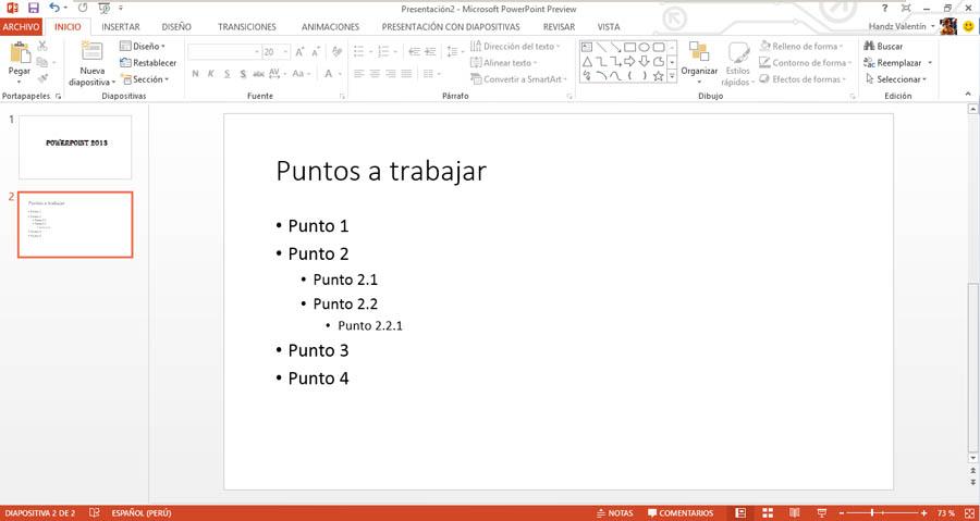 Curso gratis de Guía Office 2013. aulaClic. 10 - Trabajando con su ...