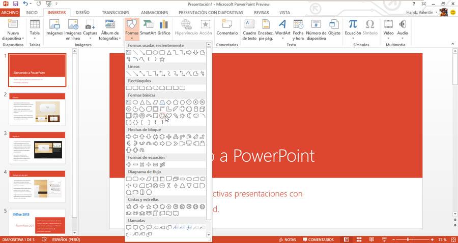 Resultado de imagen para botones en power point 2013