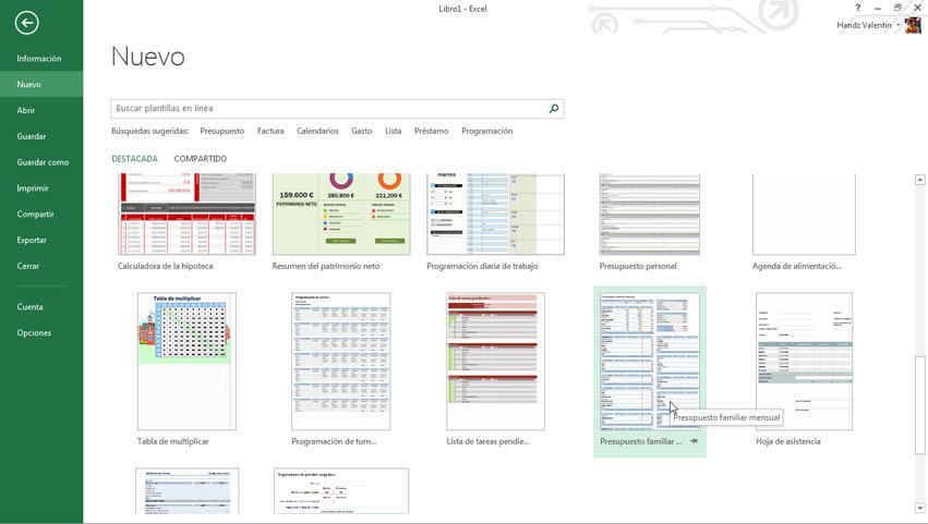 Curso gratis de Guía Office 2013. aulaClic. 13 - Fundamentos de Excel