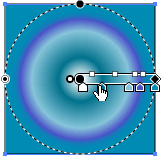 Degradado radial
