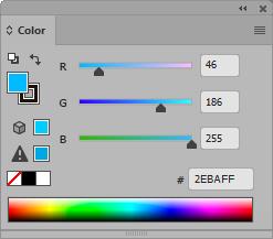 Panel color RGB