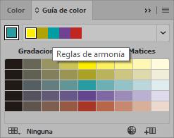 Panel Guía de color