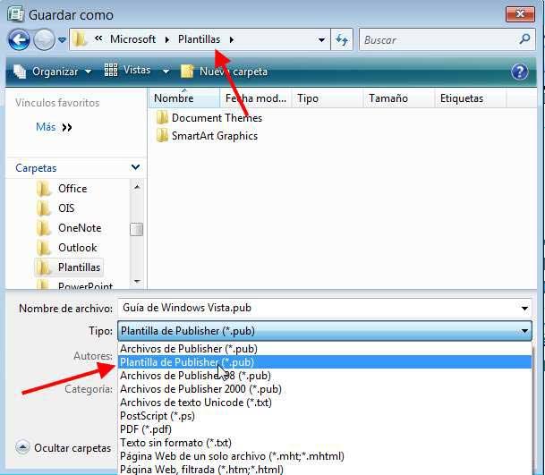 un pokito de todo: Trabajo sobre Microsoft Office Publisher 2007