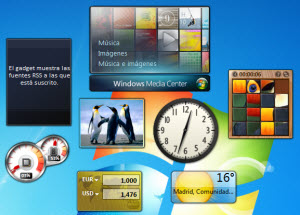 Gadgets De Escritorio Para Windows 7