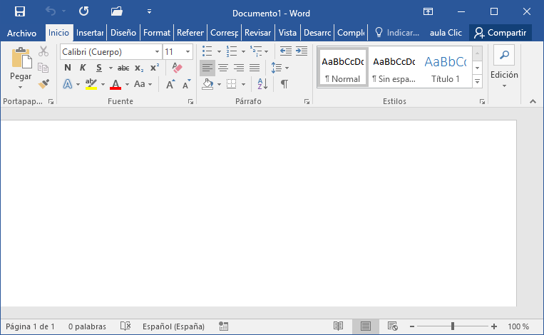how to add a left tab stop in word 2016